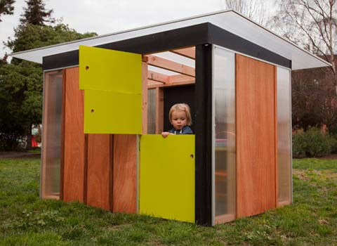 Kiddo Prefab Play House Kids Prefab Shed