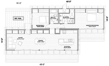 Prefab mkglidehouse prefab homes for Modern modular house plans