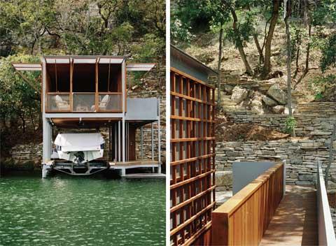 Prefab home boathouse lake house prefab cabins for Prefab lake homes