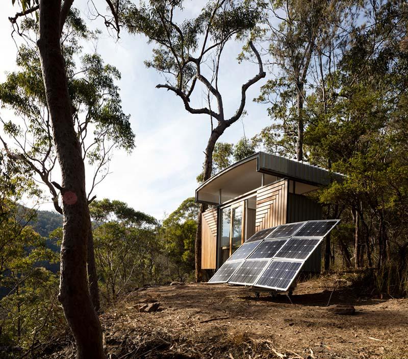 prefab office design facade sfaw - Outback Office