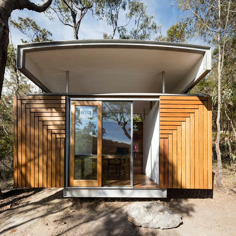 prefab office design open sfaw - Outback Office