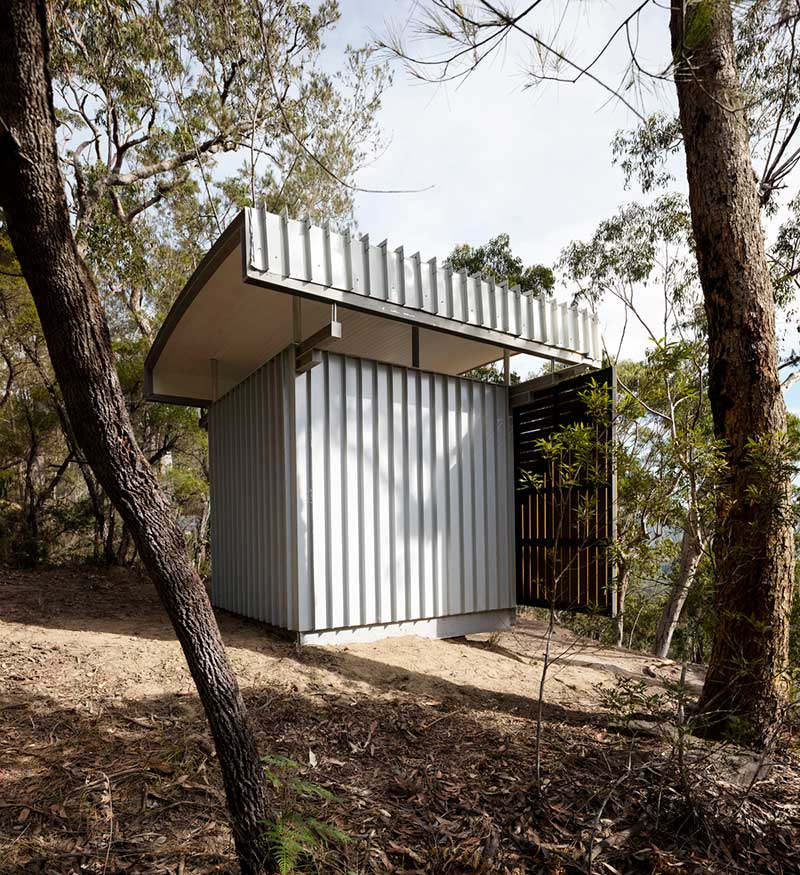 prefab office design side sfaw - Outback Office