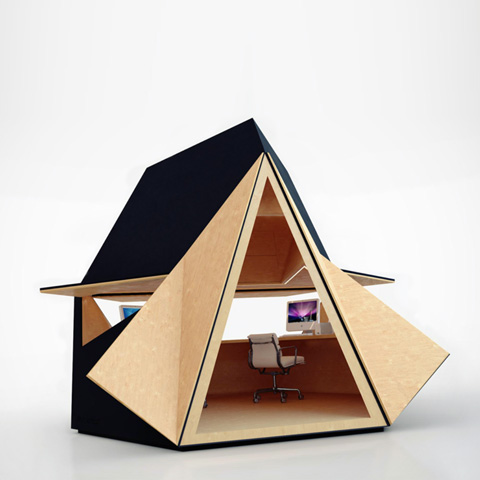 prefab office shed tetra