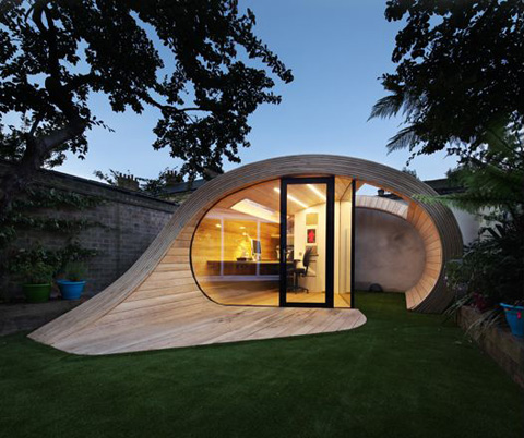 Shoffice: Shed + Office, Prefabricated