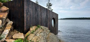 prefab sauna grotto 300x140 - Grotto Sauna