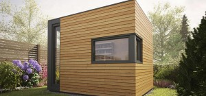 prefab studio pod space 300x140 - Pod Space: Garden prefab getaways