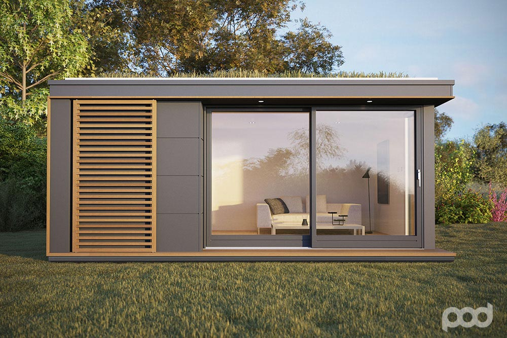 Great Pod Space: Garden Prefab Getaways