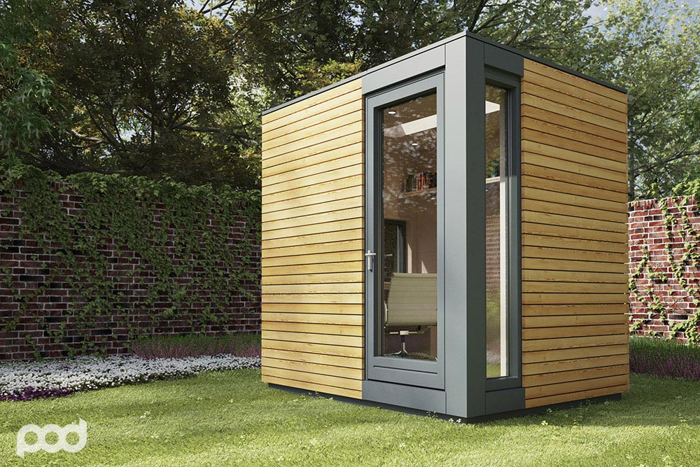 Pod Space: Garden Prefab Getaways