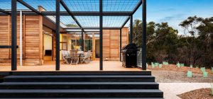 The Ultimate Prefab Vacation Home For Modular Indoor/Outdoor Living
