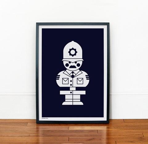 print-policeman