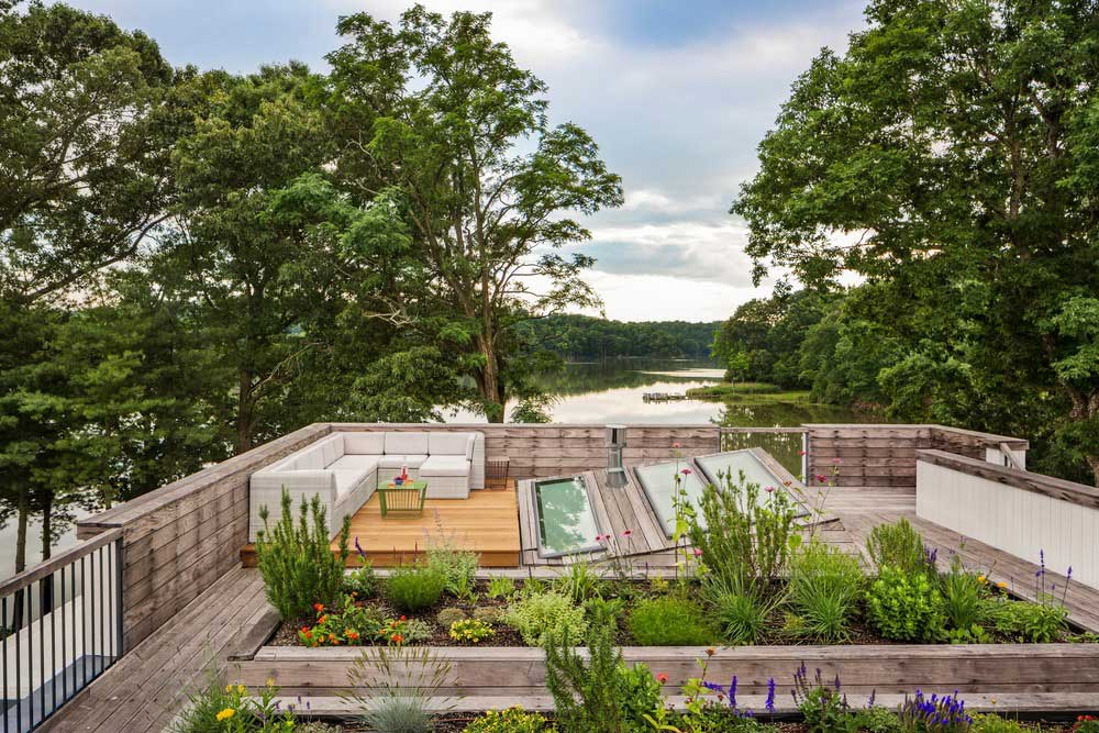 ranch house garden design bfdo - Deep Point Road House