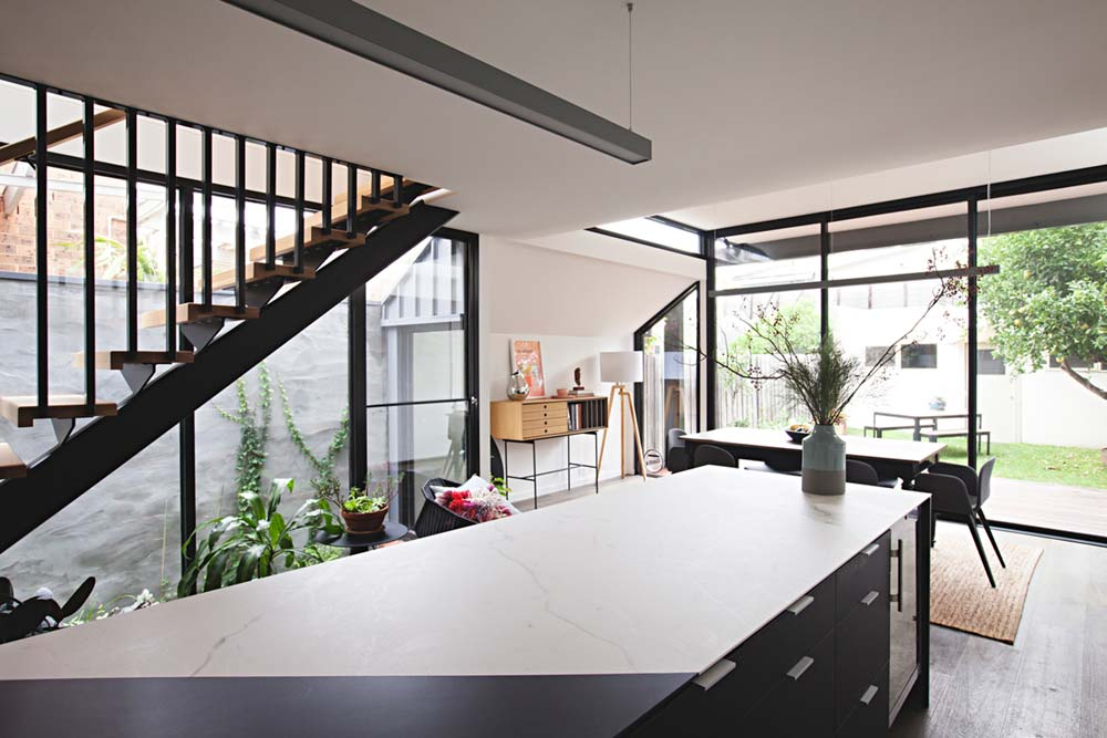rear house extension dining room ra - Perched House Extension