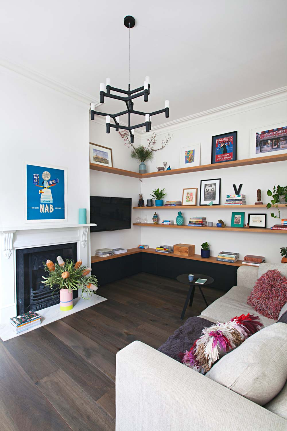 rear house extension living room ra - Perched House Extension