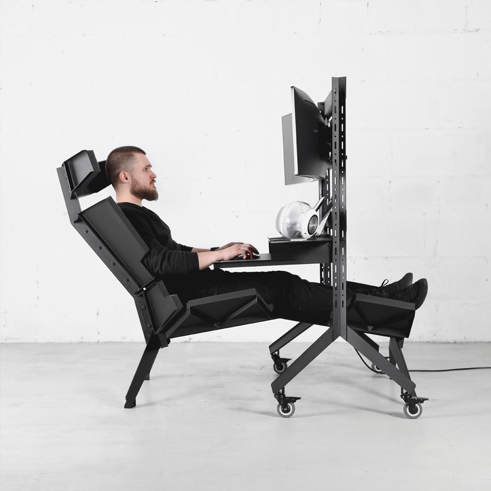 reclining workstation x3 - The X series