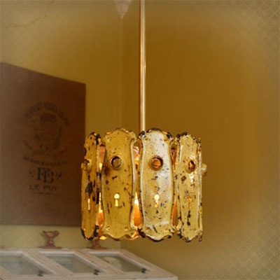 Cake Vintage Recycled Lamps And Spoondeliers Lighting