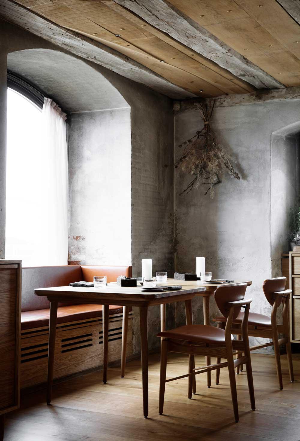 Barr Rustic Restaurant Interior Design In Copenhagen