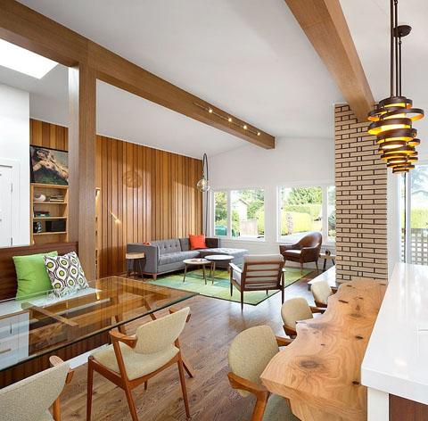 Retro Vancouver Home Design: Take Me Back - Beautiful Interiors