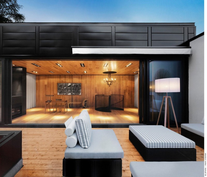 Roof Terrace Design In Montreal Beautiful Interiors