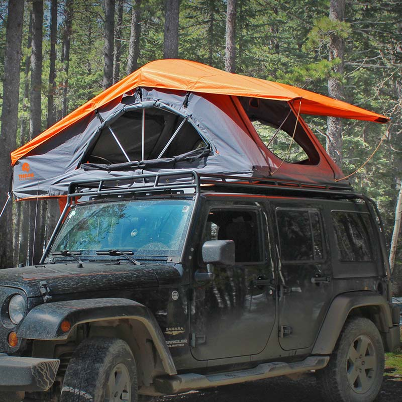 Camp On Top Of Your Vehicle With This Fantastic Roof Top Tent