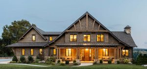 rustic mountain home design 300x140 - East Tennessee Residence