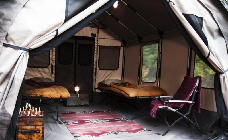safari tent barebones31 800x491 - Safari Tent by Barebones: A Rustic Mansion