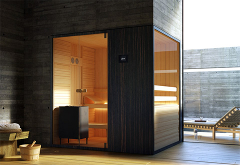 Loyly Sauna Hot Room with a View Garden Patio