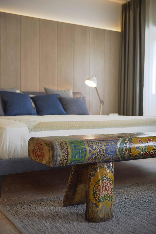 scandinavian asian bedroom interiors - Xiang Jiang House in Beijing