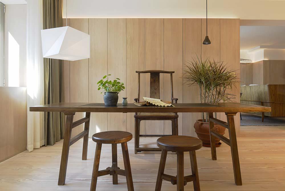 scandinavian asian dining room - Xiang Jiang House in Beijing
