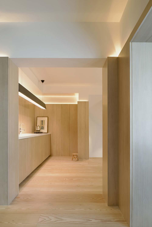 scandinavian asian kitchen design - Xiang Jiang House in Beijing