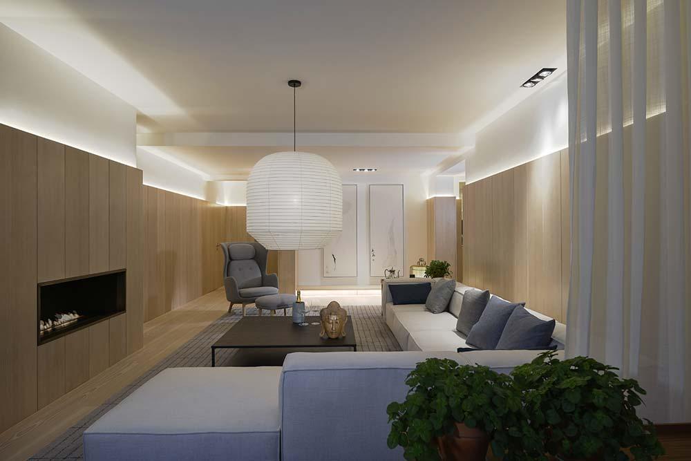 scandinavian asian living interiors - Xiang Jiang House in Beijing