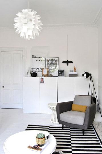 scandinavian home design deb7 - Scandinavian love in Scotland: Deborah's pretty home
