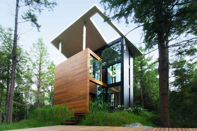 sculptural modern home yh2jj 800x534 - The house of Sculptor Jarnuszkiewicz