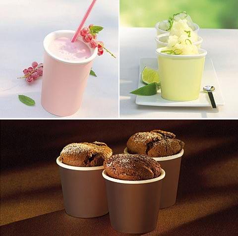 serving cups hotfresh - Hot+Fresh: Inside White – Outside Hot