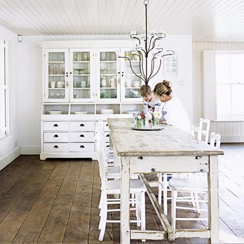 Shabby Chic All White Country Style Say What Beautiful