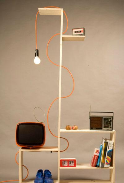 shelf lamp raffredi 4 - ShelfLamp: facing the economic crisis, shelf by shelf