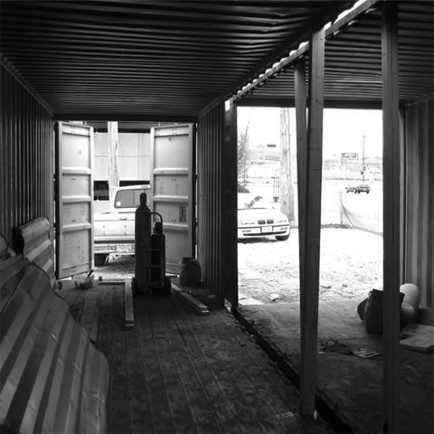 shipping container moderne 8 - Moderne Sales Center: Urban container office