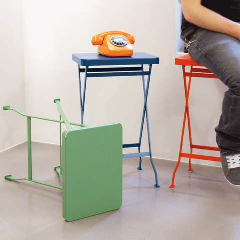 Flip: a small table on the side