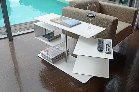 side table xcentric - X - centric sidetables: unfolding the x factor in design and efficiency