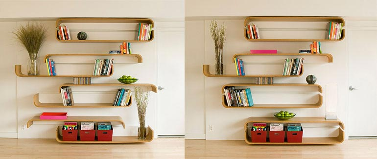 slideshelf - Parenthetical Shelves