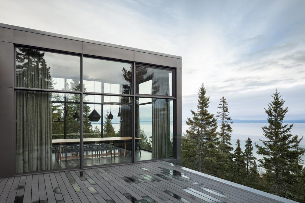 slope house dining views - Long Horizontals
