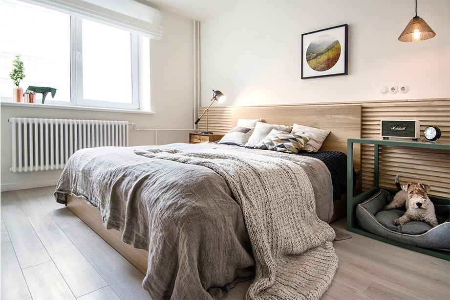 small apartment bedroom design int2 - Tiny Scandinavian inspired Interiors