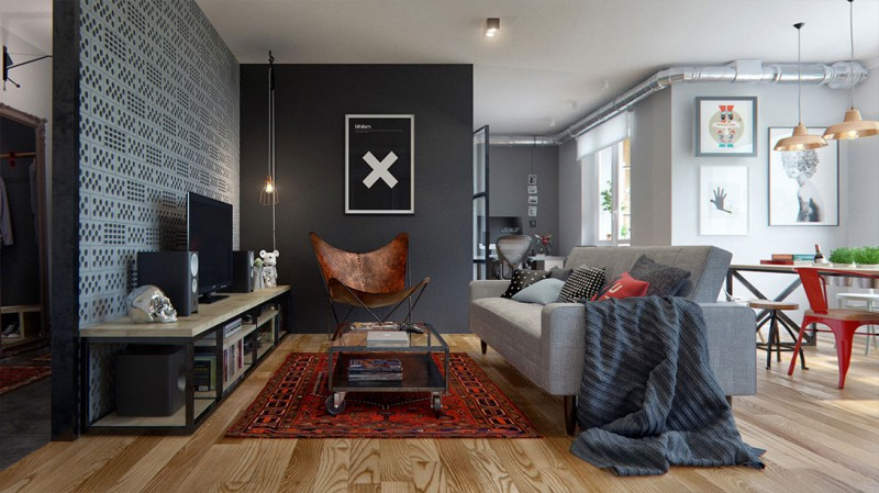 small apartment design int2 800x449 - Apartment Design in Minsk