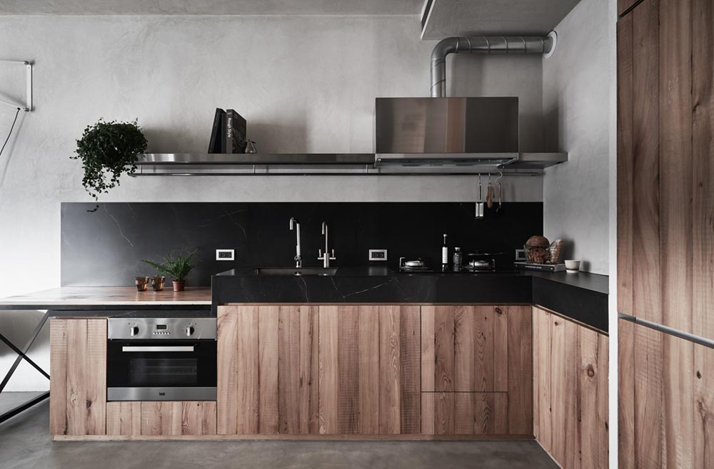 small apartment kitchen design kc - Apartment X