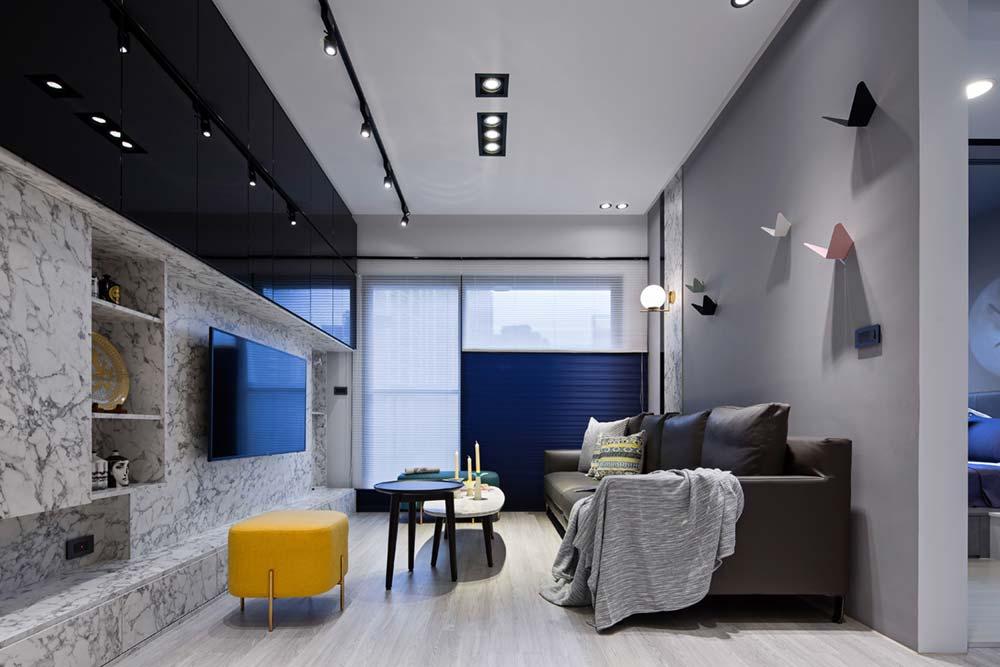 small apartment living room sc - Grotta Azzurra