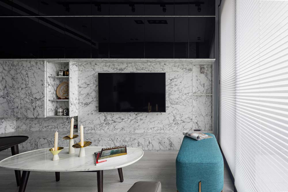 small apartment marble wall sc - Grotta Azzurra