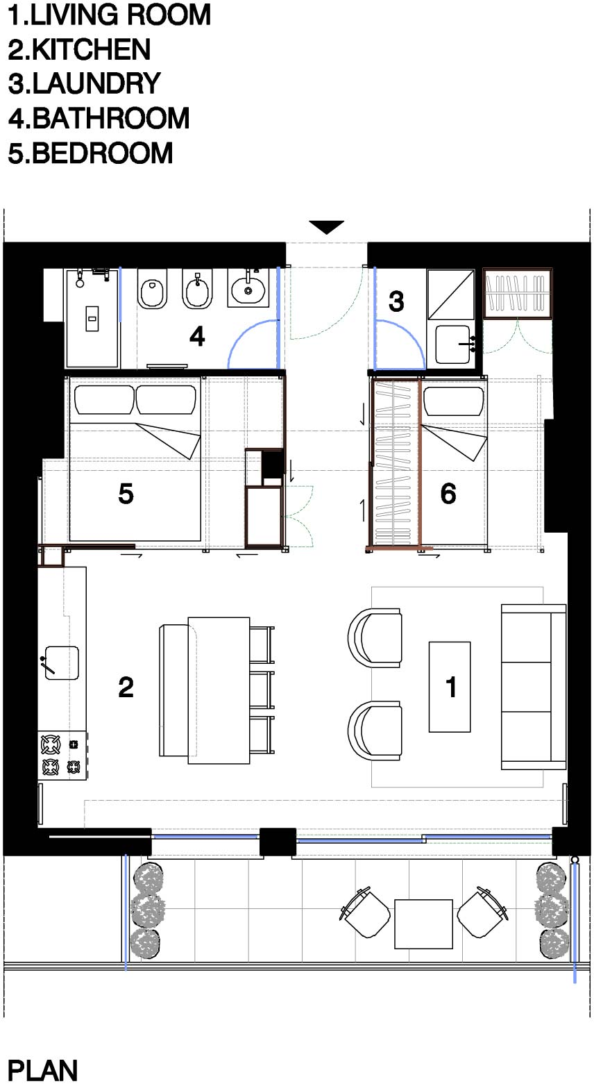 Fun house small spaces for Tiny apartment plans