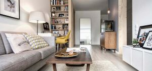 small apartment scandi design int2 300x140 - Tiny Scandinavian inspired Interiors