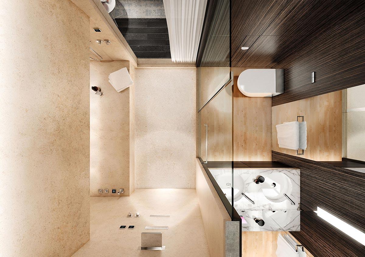 Small Size Premium Spa Bathroom Design Small Spaces