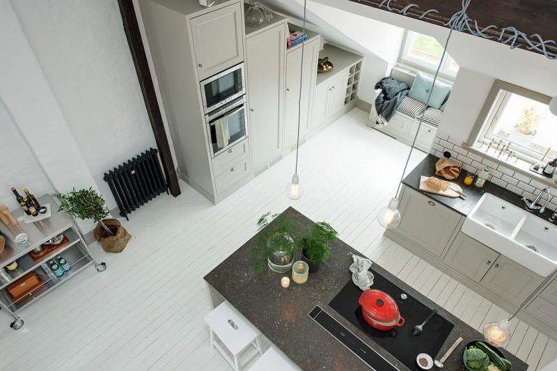 small attic apartment 800x533 - Attic Apartment