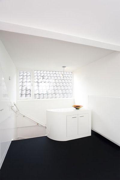 small attic space design 5 - Maff Apartment: Amazing Little Attic Space